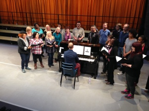 Young Vic Choir First Performance
