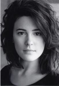 Phoebe Fox headshot bw