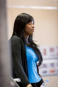 Claire Prempeh in rehearsals for A Streetcar Named Desire. Photo by Johan Persson.