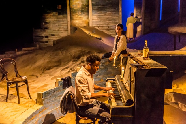 Ashley Zhangazha in Ah, Wilderness! at the Young Vic. Photo by Johan Persson.