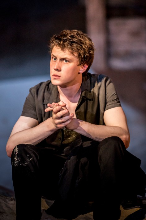 George MacKay in Ah, Wilderness! at the Young Vic. Photo by Johan Persson