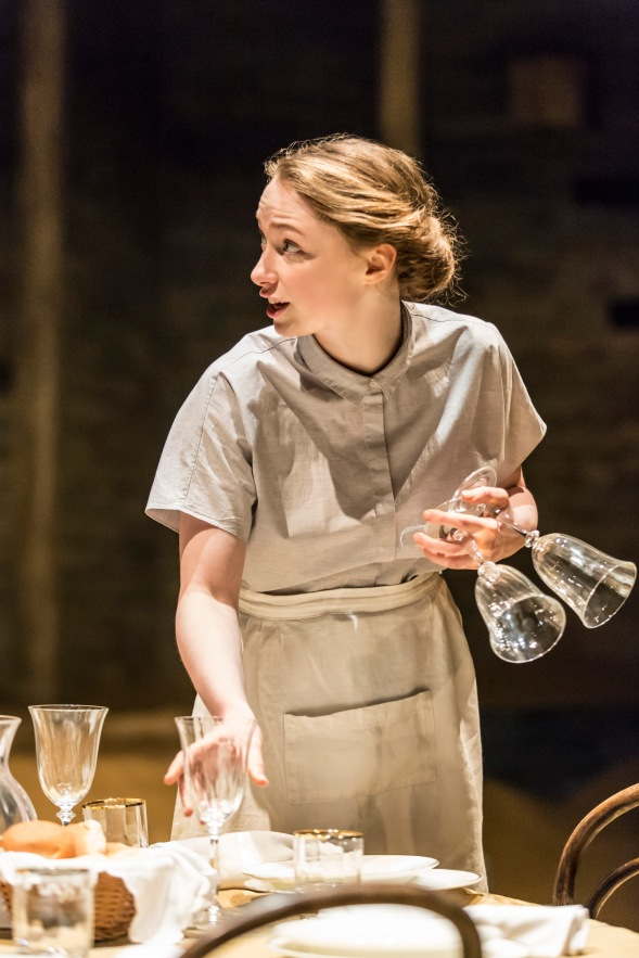 Eleanor McLoughlin in Ah, Wilderness! at the Young Vic. Photo by Johan Persson.