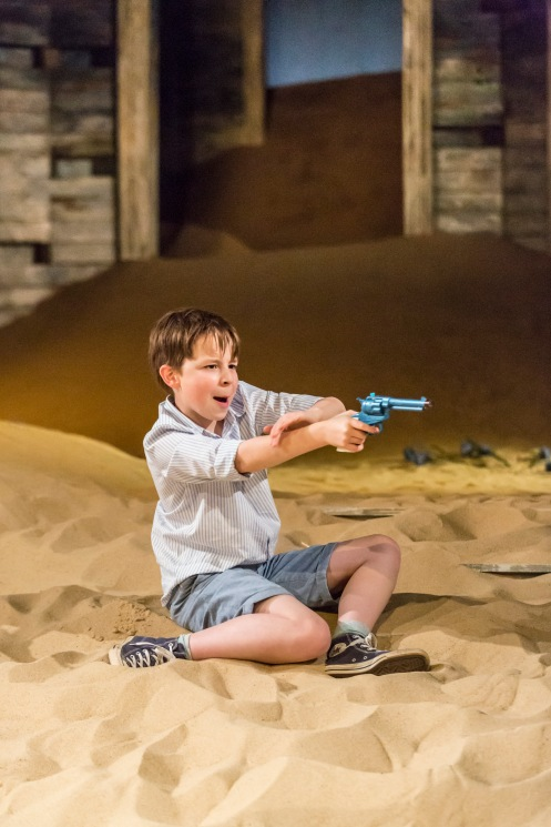 Rory Stroud in Ah, Wilderness! at the Young Vic. Photo by Johan Persson.