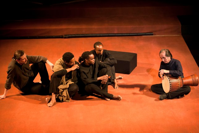 Battlefield at the Young Vic. Photo by Simon Annand.