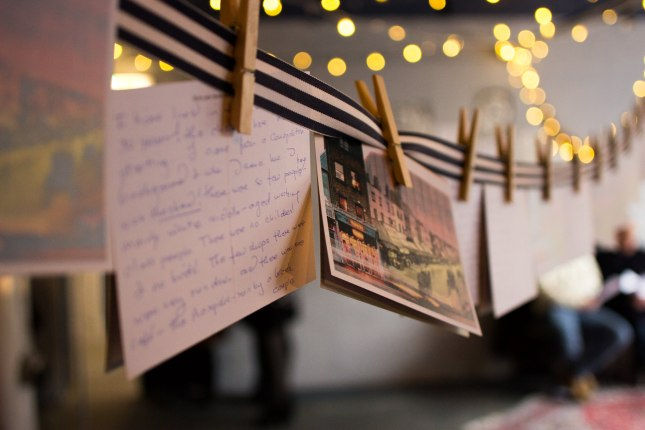 The Cut sharing at Platform Southwark - stories from The Cut shared on postcards