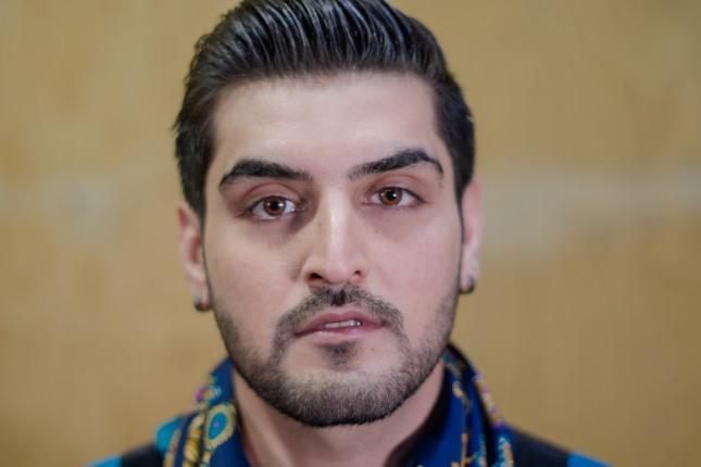 Portrait of NWAH participant, Mir