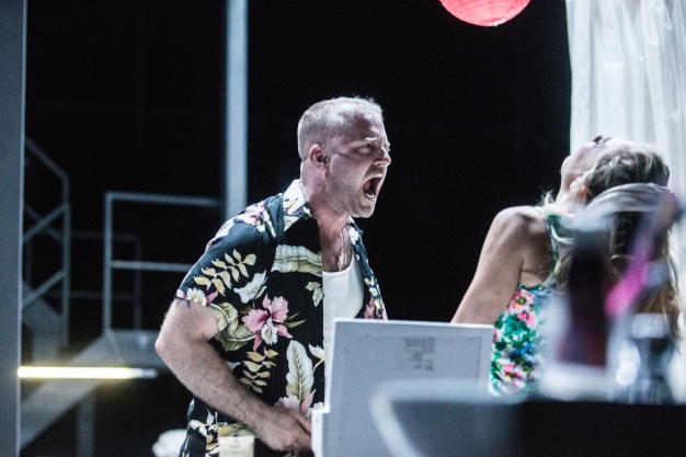 Ben Foster and Vanessa Kirby in A Streetcar Named Desire at St. Ann's Warehouse. Photo by Teddy Wolff