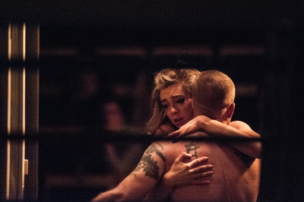 Vanessa Kirby and Ben Foster in A Streetcar Named Desire at St. Ann's Warehouse. Photo by Teddy Wolff (3)