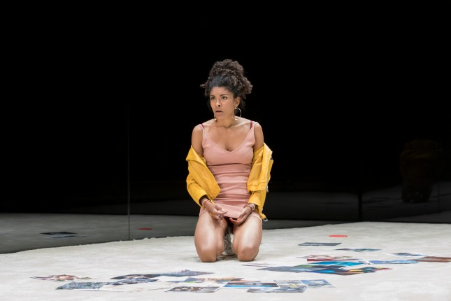 Thalissa Teixeira (Des) in Yerma at the Young Vic. Photo by Johan Persson