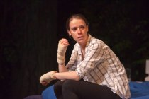 Caoilfhionn Dunne (Martha) in The Nest at the Young Vic. Photo by David Sandison.