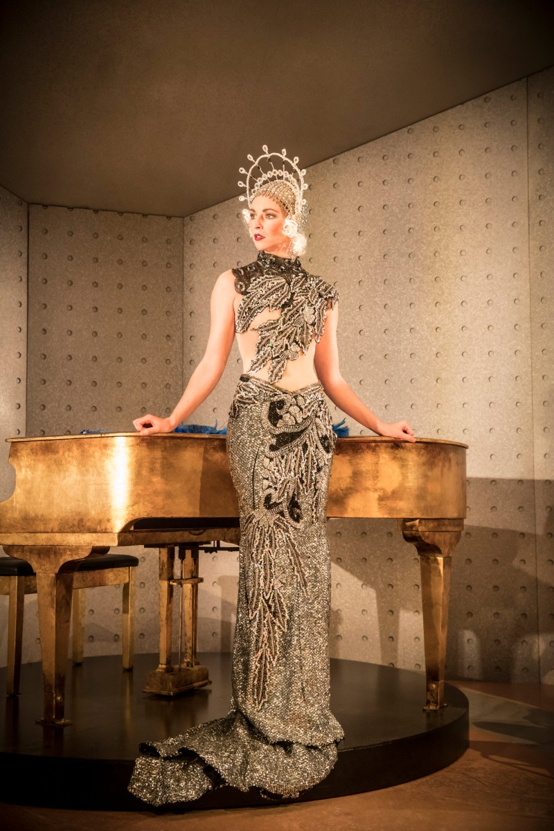 ONCE IN A LIFETIME by Hart,                   , Writer -  Moss Hart and George S. Kaufman, Director - Richard Jones, Design - Hyemi Shin, Costume - Nicky Gillibrand, Lighting - Jon Clark, Sound - Sarah Angliss, Choreography - Lorena Randi, The Young Vic Theatre, London, UK, 2016, Credit - Johan Persson - www.perssonphotography.com /