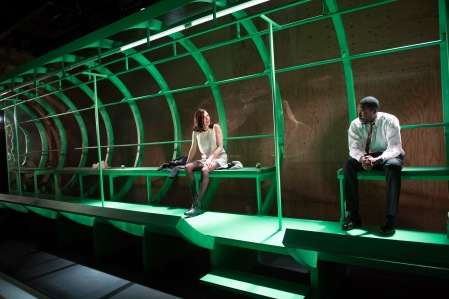 Clare Dunne and Solomon Israel in Dutchman at the Young Vic. Photo by Richard Hubert Smith.jpg