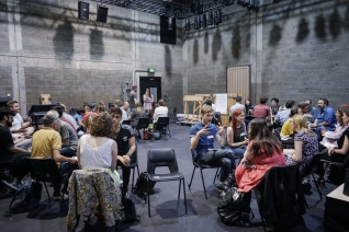 Director / Writer speed-dating with Theatre 503. Photo by Beanie Ridler.