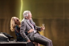 Lisa Palfrey and Michael J. Shannon in Cat on a Hot Tin Roof