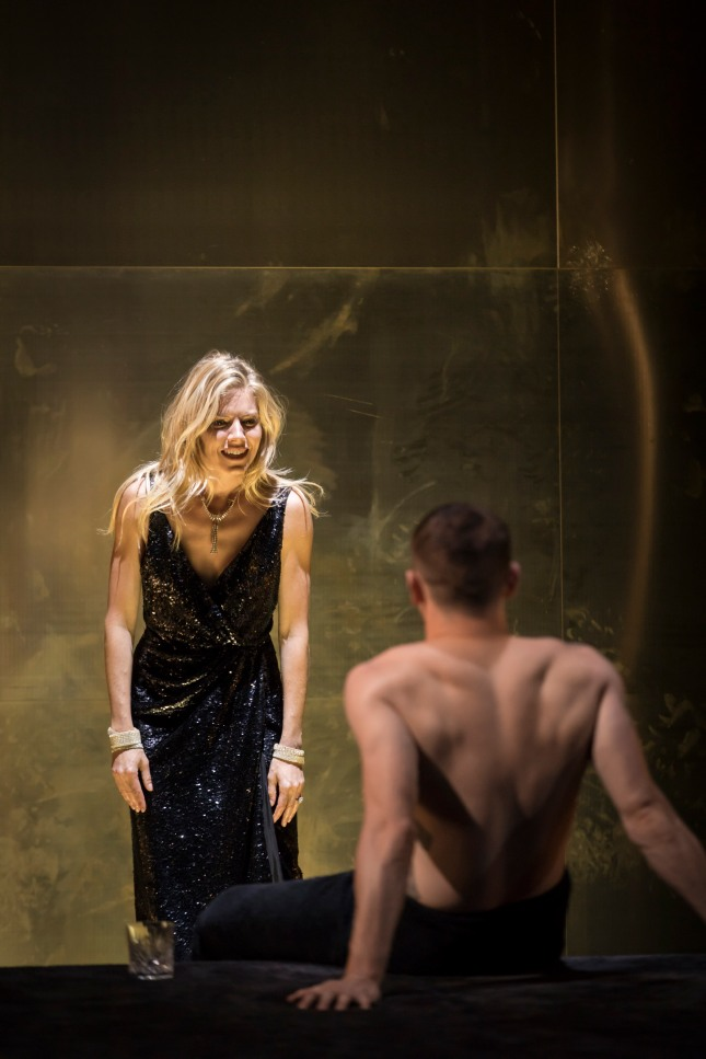 l-r Sienna Miller (Maggie) and Jack O'Connell (Brick) - Cat on a Hot Tin Roof - Photographer credit Johan Persson.jpg