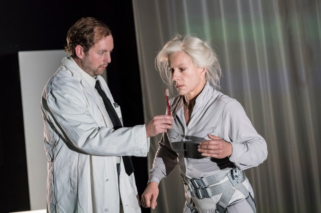 David Emmings and Juliet Stevenson in Wings at the Young Vic. Photo by Johan Persson.