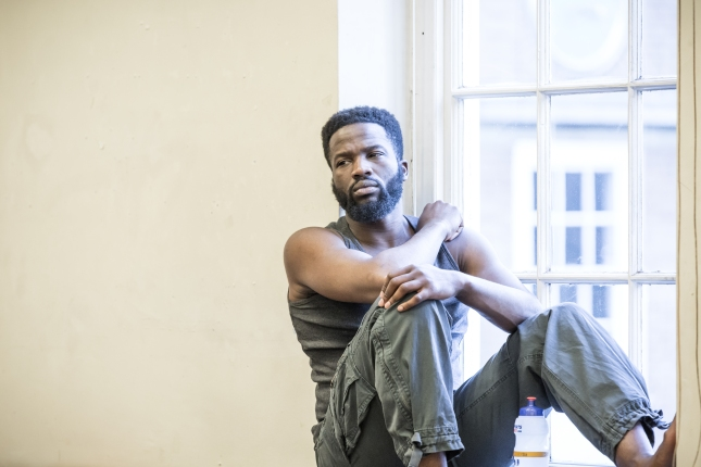 Sope Dirisu in rehearsal for The Brothers Size at the Young Vic © Marc Brenner (3)