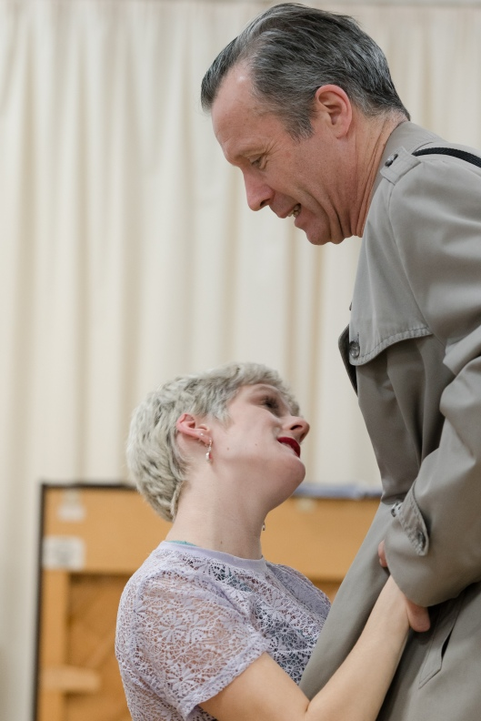 Maisie Greenwood and Jonathan Cullen in rehearsal for Winter at the Young Vic © Leon Puplett.jpg