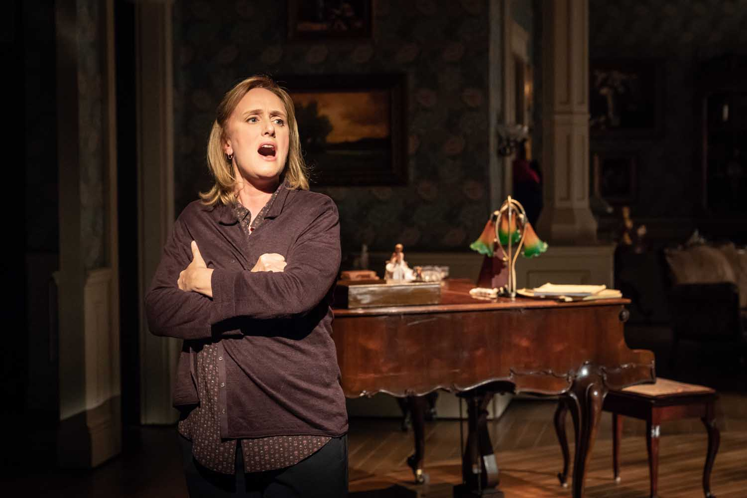 Jenna Russell in Fun Home at the Young Vic. Photo by Marc Brenner