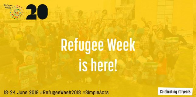refugee week banner