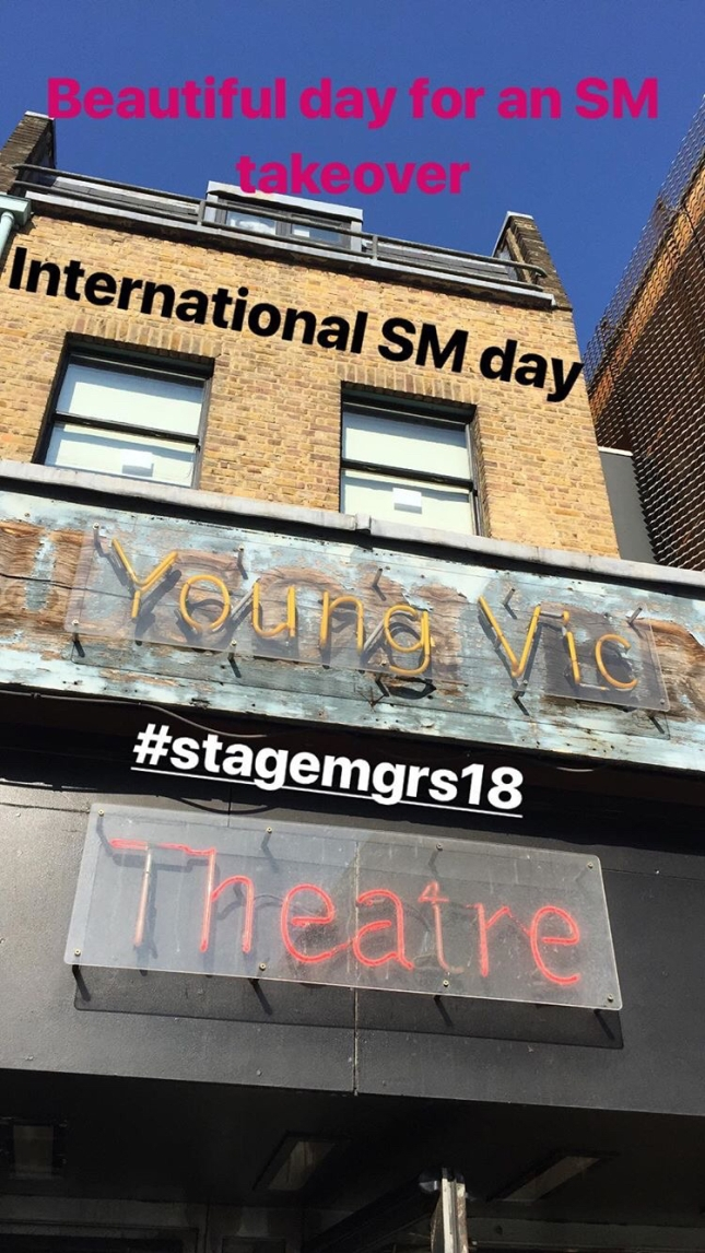 Backstage Pass | Young Vic Theatre blog