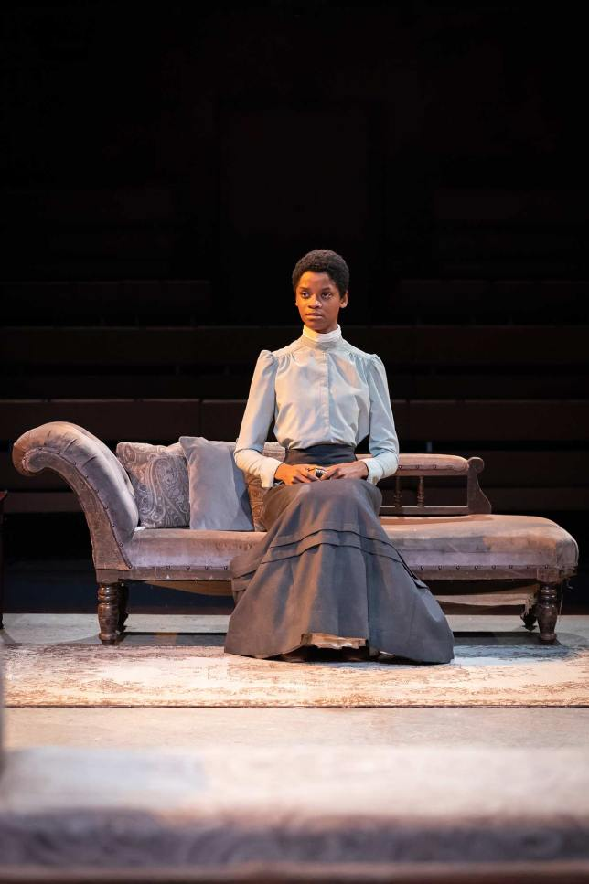 Letitia Wright in The Convert. Photography by Marc Brenner