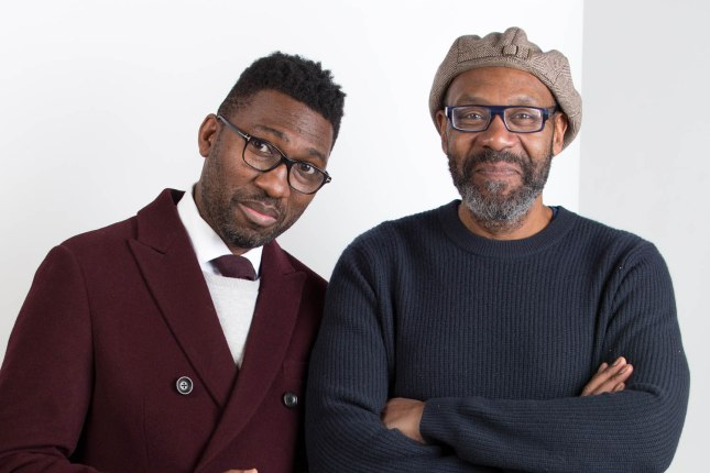 Kwame Kwei-Armah and Sir Lenny Henry