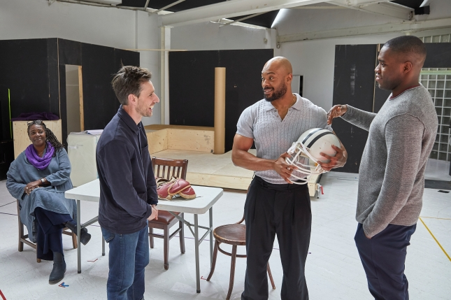 Young Vic  DEATH OF A SALESMAN Rehearsals